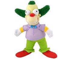 United Labels AG 1001400 – The Simpsons, peluche Krusty The Clown, 31 cm