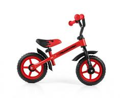 MILLY MALLY Dragon Infantil unisex Ciudad Acero Negro, Rojo bicicletta - Bicicleta (Ciudad, Acero, Negro, Rojo, 25,4 cm (10), Sin cadena, Infantil unisex)