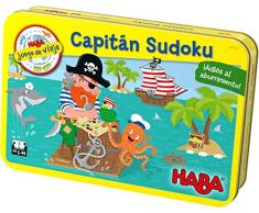 HABA- Juego de Mesa, Capitán Sudoku, Multicolor (Habermass H304922)