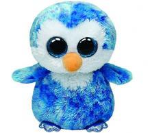 Beanie Boos - Pingüino Azul Ice Cube - Peluche 15 cm