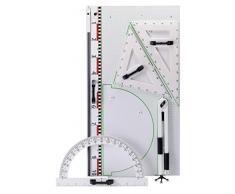 Wissner Wissner015102.M00 - Juego de Dibujo de Pizarra magnética (4 Unidades)