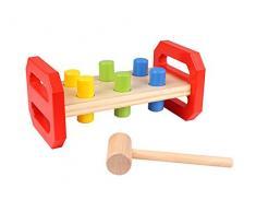 Tooky Toys TKB504 Craft Trikes - Banco para manualidades (21,8 x 12 x 10 cm)
