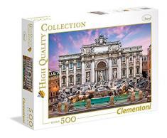 Clementoni 35047 – Puzzle fuente de Trevi , color/modelo surtido