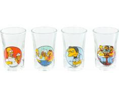 United Labels 0804365 Los Simpson - Vasos de licor (4 unidades, 2 cl)