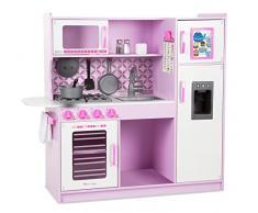 Melissa & Doug - Cocina de juguete, Chefs Kitchen - Pink (14002)