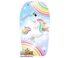 Saica- Unicornio. Body Board Grande. Tabla de Sur para Playa y Piscina, (9665)