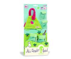 NICI - Wonderland, Set Delantal, Botas y Bolso de Mano para muñeca (35505)