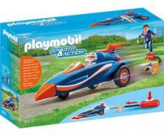 Playmobil- Bólido con Propulsor Juguete, Multicolor (geobra Brandstätter 9375)