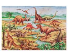 Melissa & Doug 10421 - Rompecabezas de Dinosaurios