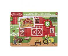 Melissa & Doug- Around The Farm Sound Puzzle (42800)