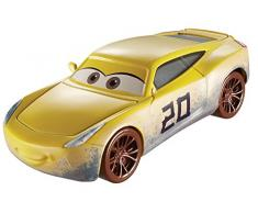 Cars 3 - Coche Natalie Certain, coches juguetes (Mattel DXV35)