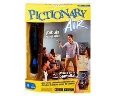 Mattel Games- Juego de Mesa Infantil Pictionary Air Pizarra mágica (GPL50)