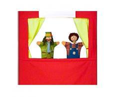 Masek masek0066 Colgar Teatro para Marionetas de Mano con Strut Bar