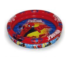 Ultimate Spiderman- Piscina Hinchable, Color Azul y Rojo (Saica 1)