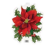 Papel Pascua Holly Navidad Decoración