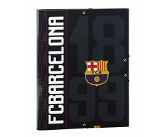 Futbol Club Barcelona- FC Barcelona Black Carpeta Folio clasificadora (SAFTA 511725069)