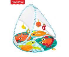 Fisher-Price - Gimnasio Océano plegable Manta de juego para bebés recién nacidos (Mattel FXC15)