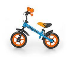 Milly Mally Dragon Z Hamulcem Infantil Unisex Ciudad Acero Negro, Azul, Naranja bicicletta - Bicicleta (Ciudad, Acero, Negro, Azul, Naranja, 25,4 cm (10), Sin Cadena, Freno de Mano)