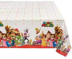 Super Mario Bros Party Mantel talla estadounidense Amscan 571554