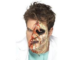 Smiffy s – Horror Zombie Set de Maquillaje con 4 Pinceles de Espuma de látex líquido ollas y 4