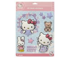 Hello Kitty - Pegatinas para pared y cristal (711603)