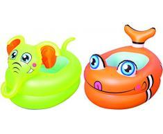 Bestway 51125, Kids play pool Billares para Niños (Pattern, Verde, Naranja, Vinilo, Full color box), 88,9 x 58,4 x 61 cm