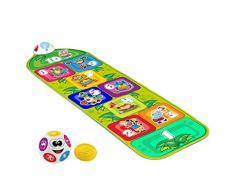 Chicco - Juega y salta, alfombra interactiva con 2 modos de juego