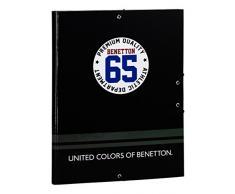 Benetton Sport Carpeta Folio Gomas con 3 Solapas SAFTA 511706068