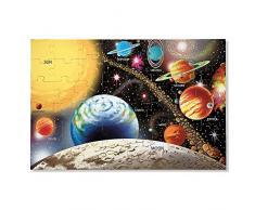 Melissa & Doug 10413 - Rompecabezas de Sistema Solar para el Piso