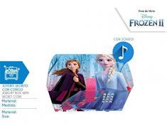 Kids Euroswan- JOYERO SECRECTO con CODIGO Y Sonido Frozen, Multicolor (WD20823)