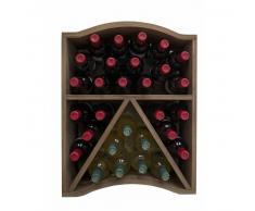 EXPOVINALIA Botellero modular para 30 botellas