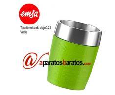 Emsa taza térmica de viaje 0.2 l Emsa Verde 514516