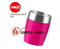 Emsa taza térmica de viaje 0.2 l Emsa Rosa 514517