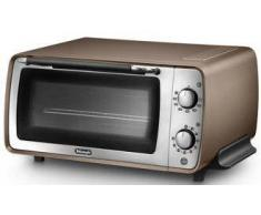 De Longhi Mini horno - delonghi distinta eo i406.bz potencia 1100w, capacidad 9l, termostato regulable hasta 22