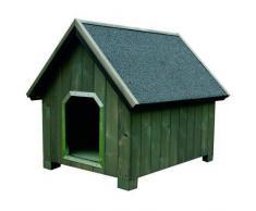TK Pet Caseta de madera para perros Alpine Gris