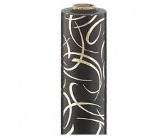 Papel de regalo Elegant negro y oro