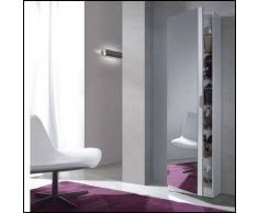 Zapatero con espejo Rock - Color - Blanco