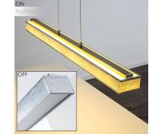 MENDIONDO Lámpara Colgante LED Níquel-mate, 1 luz - 1800 Lumen - Moderno - Zona interior - 3000 Kelvin - 2 - 4 días laborables .
