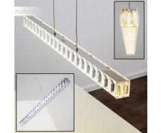 DERIO Lámpara Colgante LED Cromo, 1 luz - 1440 Lumen - Moderno - Zona interior - 4000 Kelvin - 2 - 4 días laborables .