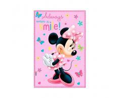 Disney Manta Polar Minnie Rosa 100x150cm
