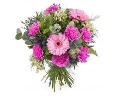 Ramo de clavel y gerbera - Env?o de Flores a Domicilio