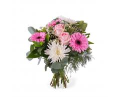 Ramo de Anastasias y Rosas - Env?o de Flores a Domicilio