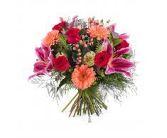Ramo de rosas con Liliums - Env?o de Flores a Domicilio