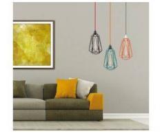 Filamentstyle Lámpara Diamante 5 con Bombilla vintage vista de FilamentStyle