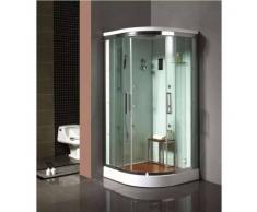 Cabina de ducha de hidromasaje + Hammam DENTI
