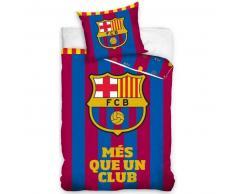 FC Barcelona Set de funda edredón infantil 200x140 cm DEKB180820