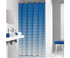 Sealskin cortina de ducha 180 cm modelo Speckles 233601323 (Azul Real)