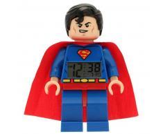 Lego Reloj despertador Heroes Superman plástico 9005701