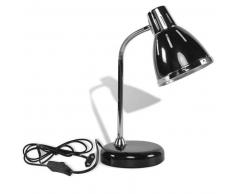 Grundig Lámpara negra de escritorio flexible 45 cm