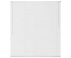 VidaXL Persiana de aluminio 100x220 cm blanca